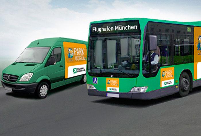 Parkvogel Parkhaus Flughafen München