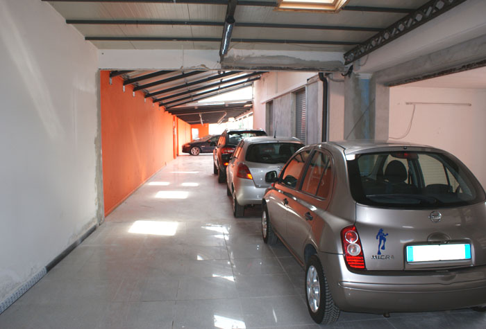 City Parking Malpensa Parkhalle