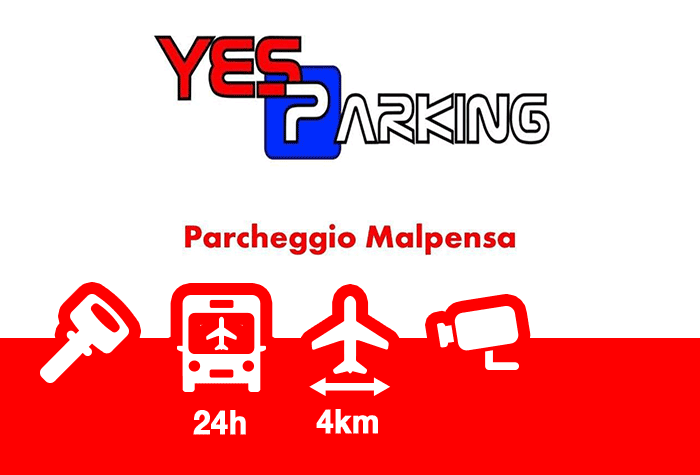 Yes Parking Parkplatz Malpensa