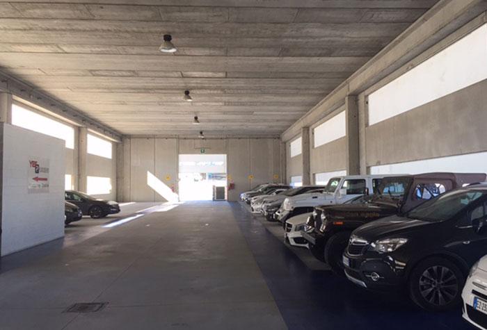 Yes Parking Parkhalle Malpensa