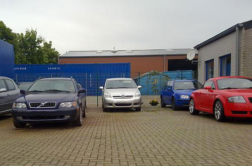Valetparking Parkplatz Weeze