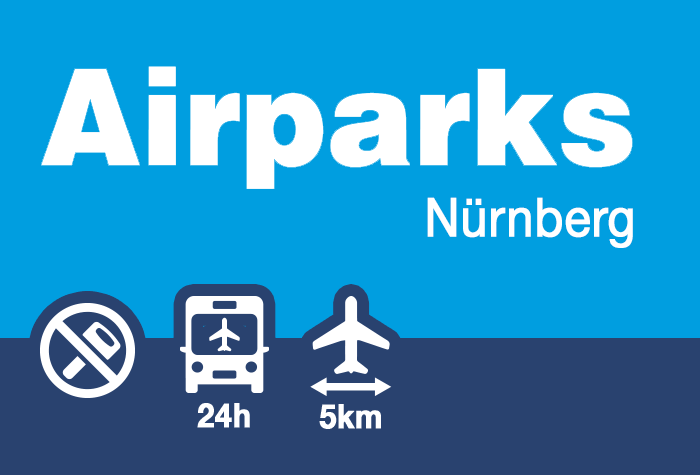 Airparks Parkplatz Flughafen Nürnberg