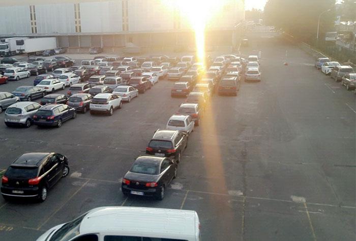 ORLYPARK Parkplatz