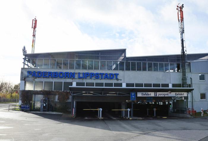 Paragon Parkhaus Paderborn