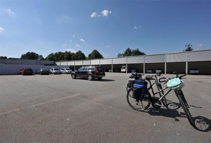 Parkplatz-Passau Garage