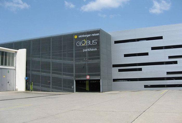 Globus Group Parkhaus Passau