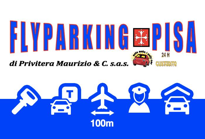 FlyParking Pisa Überdachter Parkplatz