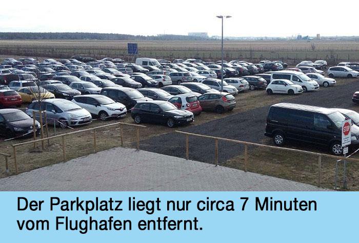 Airparks Parkplatz Bohnsdorf
