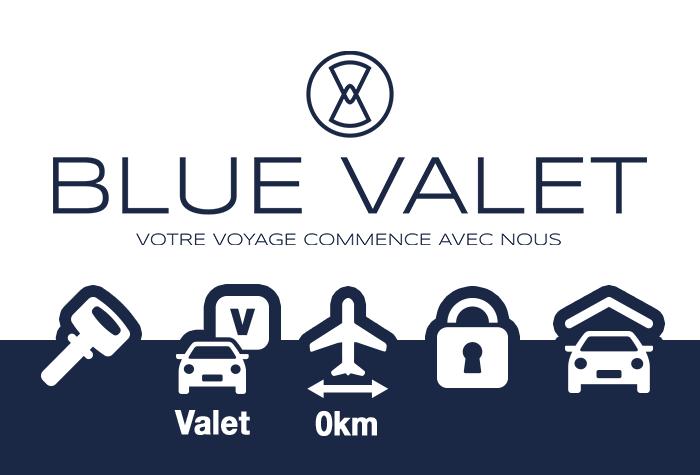 Blue Valet Parkplatz Nizza