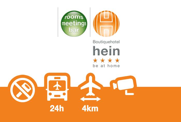 Airport Boutiquehotel hein Parkplatz
