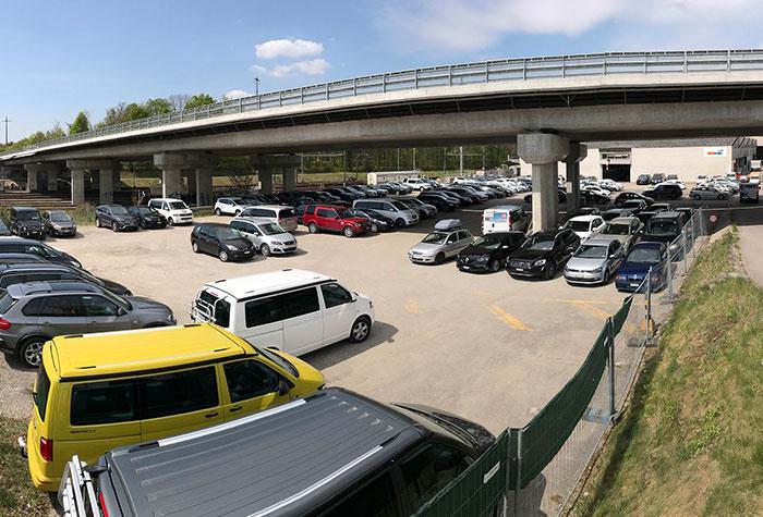 shuttleparking.ch Parkplatz Zürich - ohne Schlüsselabgabe