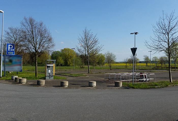 Holiday Parkplatz P4 Rostock Laage