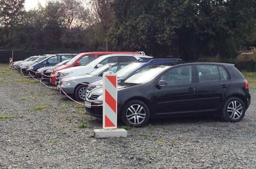 Parcheggio Ceretta Parkplatz