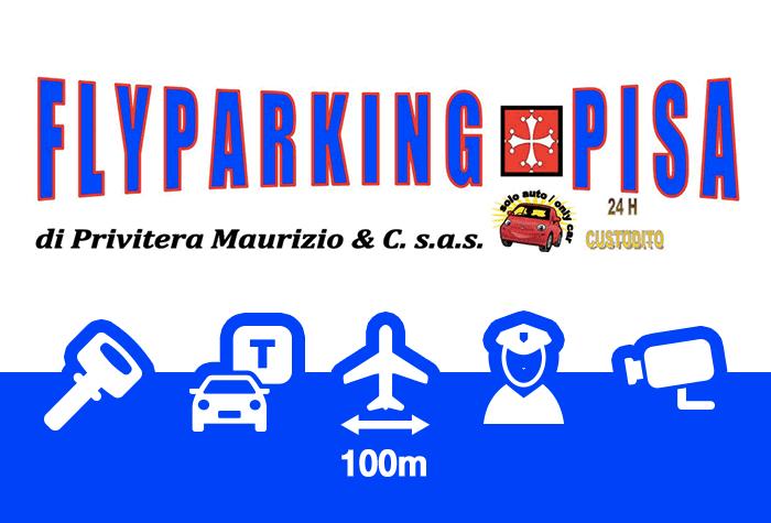 FlyParking Pisa Parkplatz