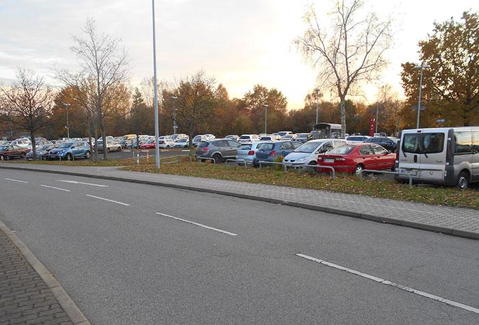 Flughafen Dresden Sparpreis Parken Außenparkplatz