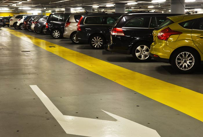 VIP Parking Parkhalle Fiumicino